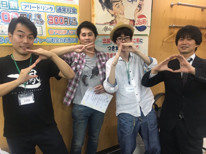 ZERO-ONE League(ゼロワンリーグ) 4節 優勝 べっしーさん!! 前期総合優勝 アメンポてふさん!!