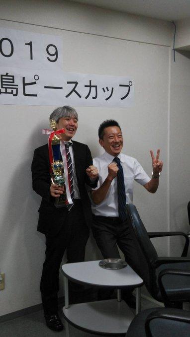 [広島ピースカップ]優勝は藤原 健プロ!! 会場:いきいき健康麻将広場 風鈴