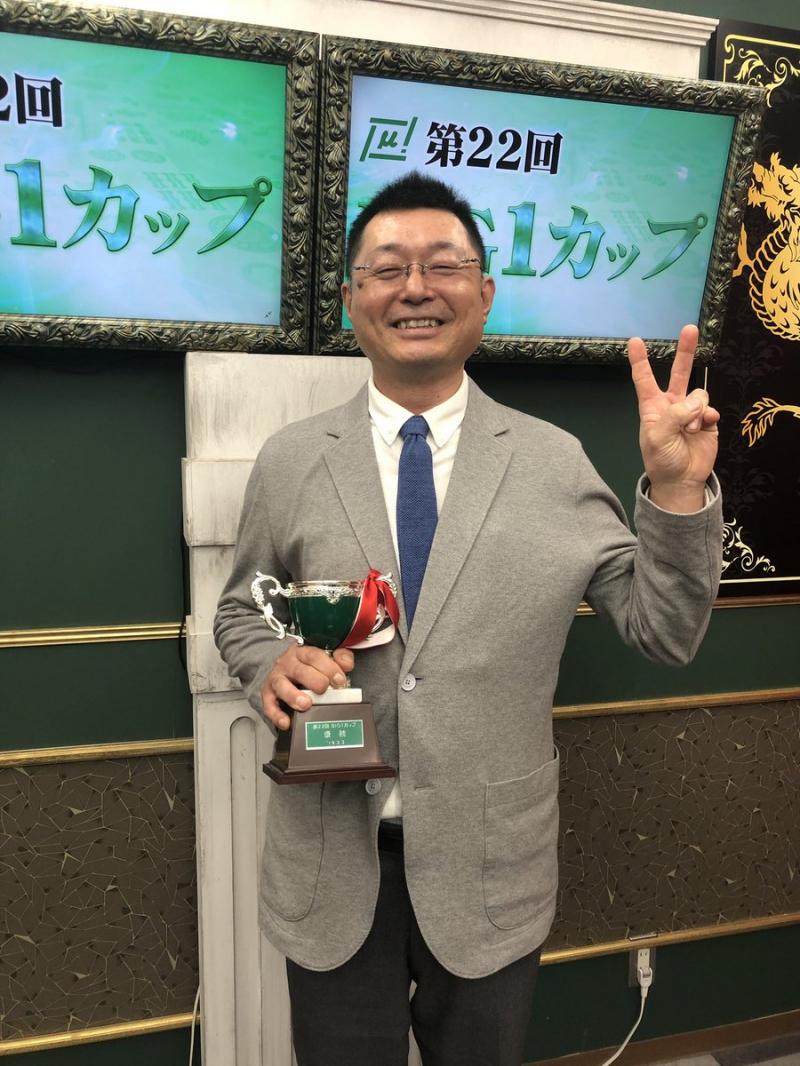 【麻将連合】第22期BIG1カップ 優勝 加藤博士さん!!