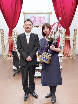 『第14回麻雀カボクイーンカップ』   優勝は 平岡理恵プロ(日本プロ麻雀連盟)!!