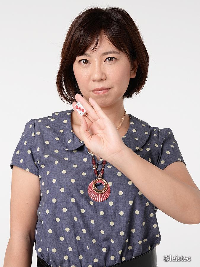 麻雀カボ静岡店スタッフ 平岡理恵プロ(日本プロ麻雀連盟)常勤