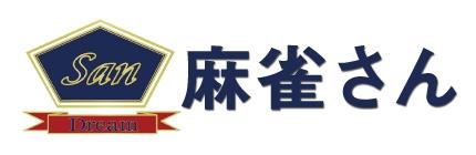 雀荘 麻雀さん岡山店のロゴ