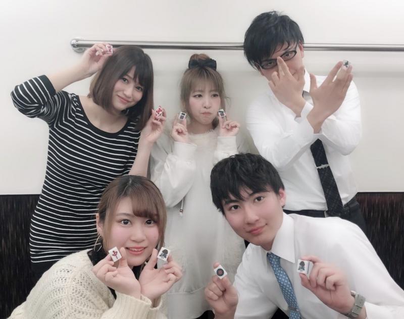 マーチャオ ρ(ロー) 名古屋駅前店スタッフ プロ団体に所属しているスタッフから、麻雀を知らない状態で入ったスタッフまで様々なスタッフが楽しく働いている職場です。