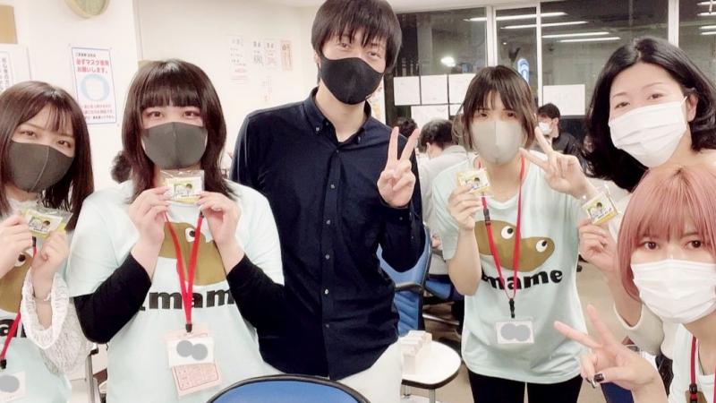 健康麻雀 にまめスタッフ にまめガールズ&堀内正人さん(^^)/